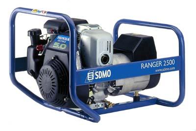 Генератор SDMO Ranger 2500