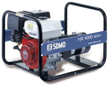 Генератор SDMO HX 4000 В