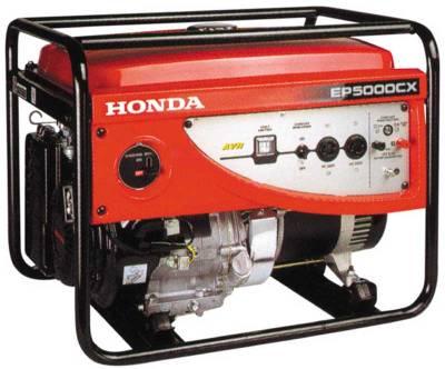 Генератор HONDA EP 5000 CX RC/RGHC