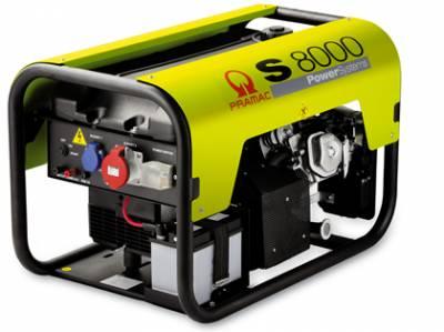 Генератор Pramac S 8000 A
