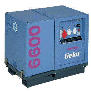 Генератор GEKO 6600 ED-AA-HHBA Super Silent